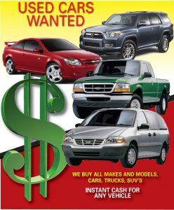 Used Car Buyer Flyer