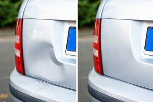Auto body dent repair in addison